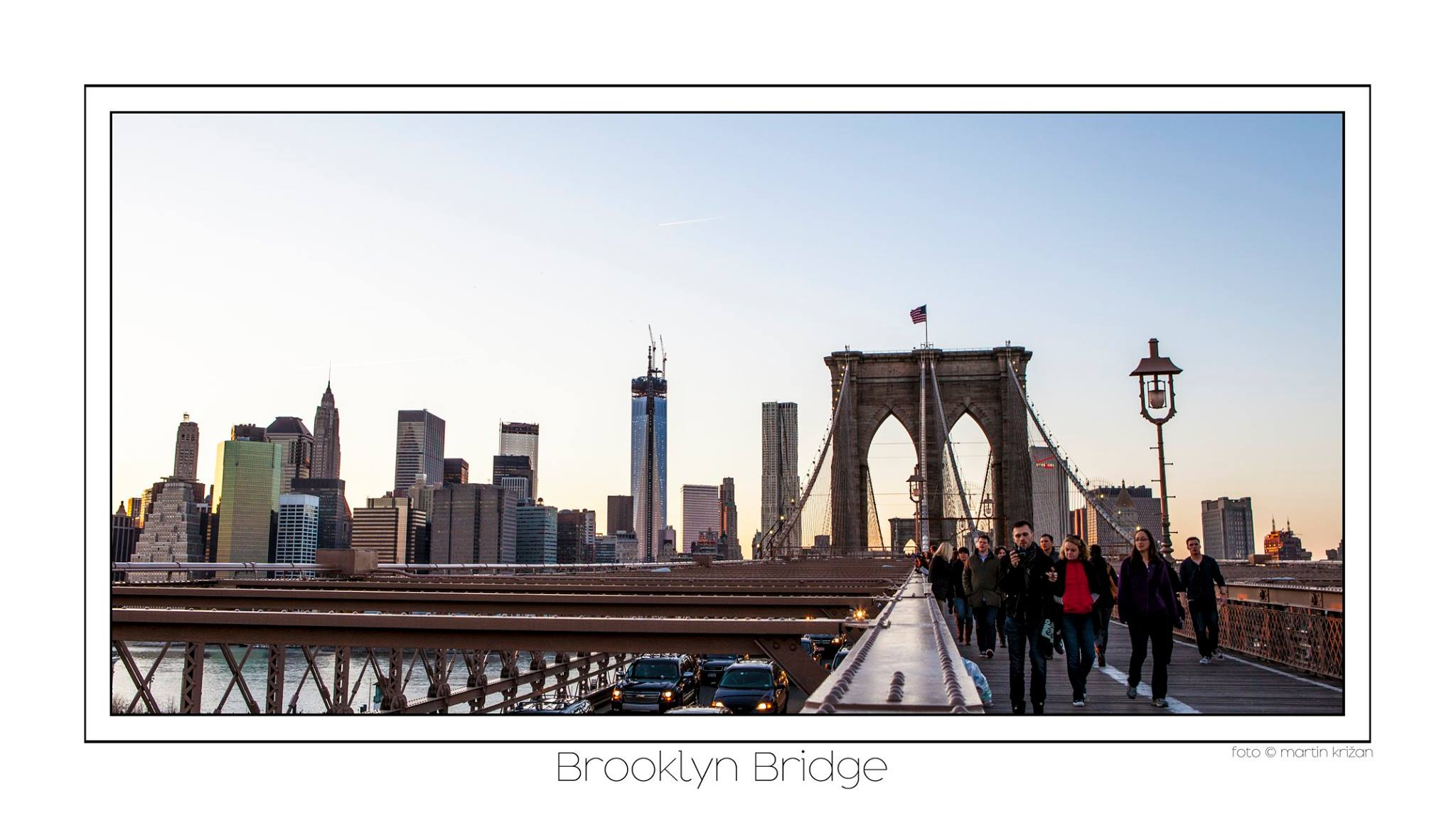 The Brooklyn Bridge & :amhattan